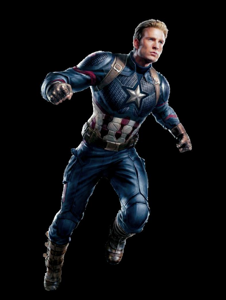 Avengers Endgame Captain America PNG