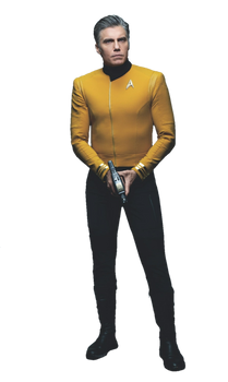 Star Trek Discovery Captain Christopher Pike PNG