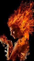 Dark Phoenix Jean Grey PNG by Metropolis-Hero1125