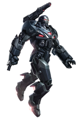 Avengers Endgame War Machine  PNG by Metropolis-Hero1125