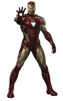 Avengers Endgame Iron Man Mark-85 PNG by Metropolis-Hero1125