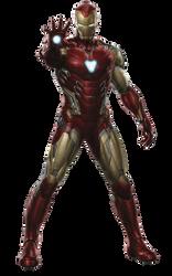 Avengers Endgame Iron Man Mark-85 PNG by Metropolis-Hero1125
