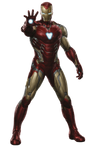 Avengers Endgame Iron Man Mark-85 PNG