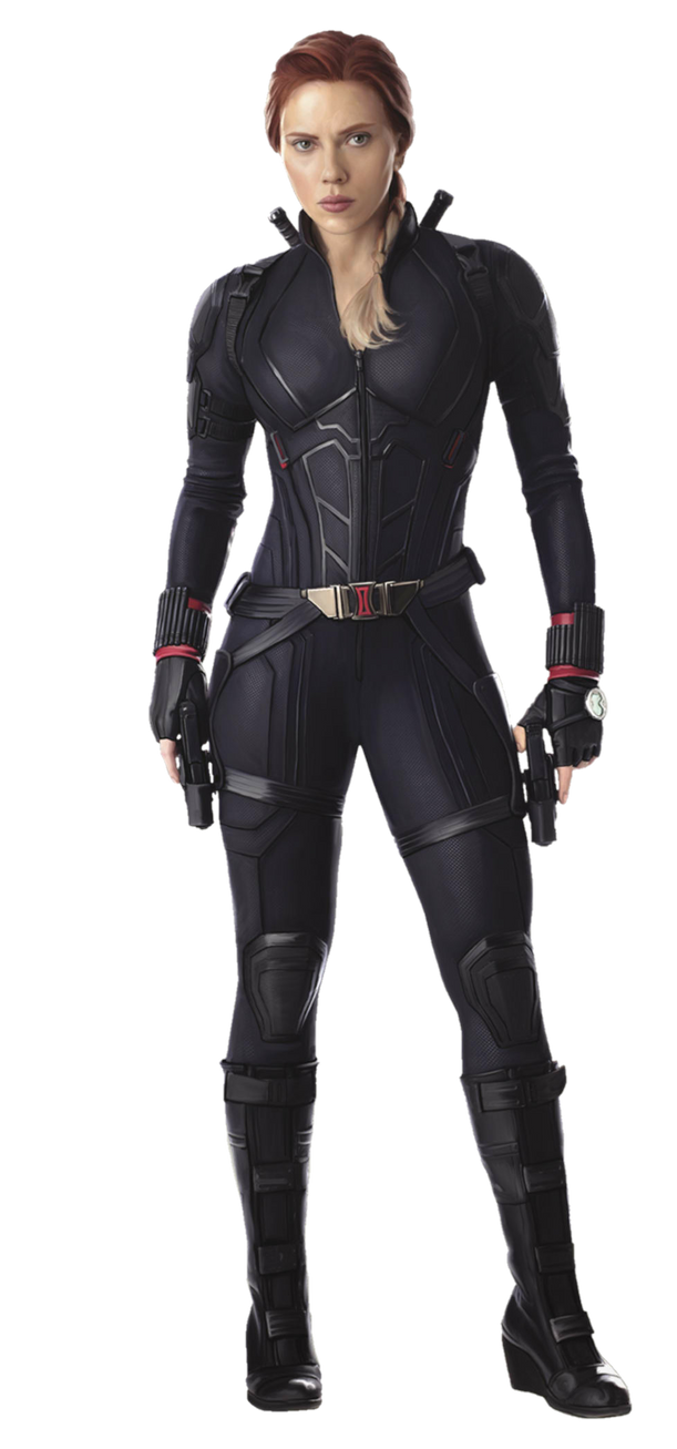 Avengers Endgame Black Widow PNG by Metropolis-Hero1125