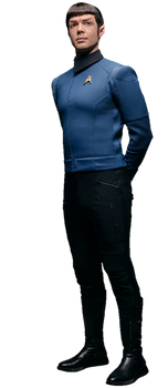 Star Trek Discovery Spock PNG
