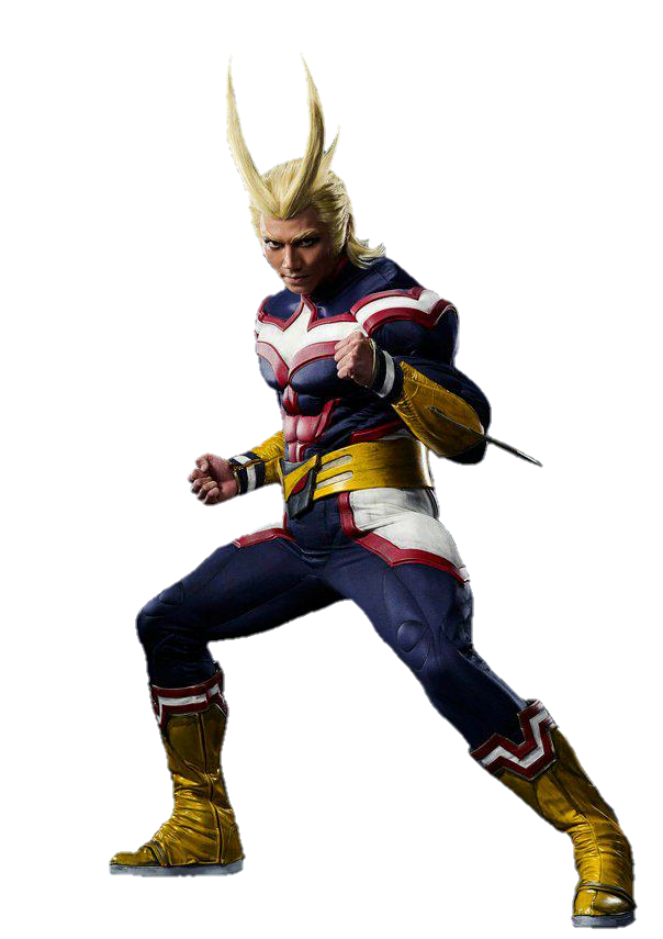 My Hero Academia Stage Play All Might PNG by Metropolis ...
