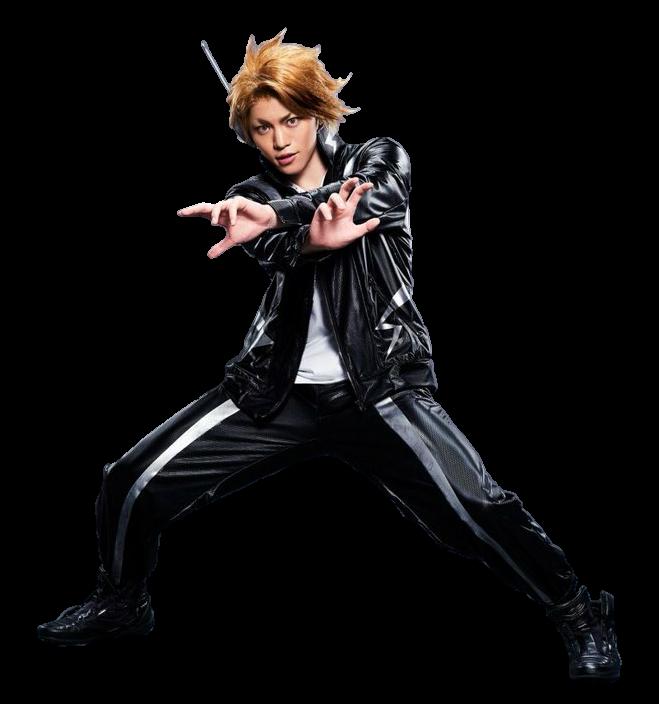 My Hero Academia Png: My Hero Academia Stage Play Denki Kaminari PNG By