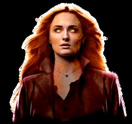 Dark Phoenix Jean Grey (Phoenix Force) PNG by Metropolis-Hero1125