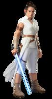Star wars Rise of Skywalker Rey PNG