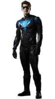 Titans Nightwing Dick Grayson PNG