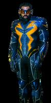 Black lightning new suit PNG