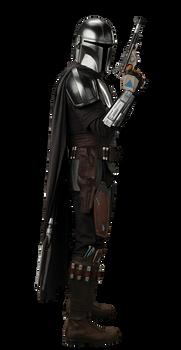 The Mandolorian Beskar Armor PNG