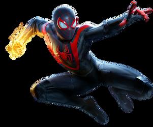 Spider-Man Miles Morales PNG