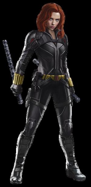 Black Widow Natasha Romanoff PNG
