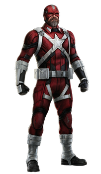 Black Widow Red Guardian PNG