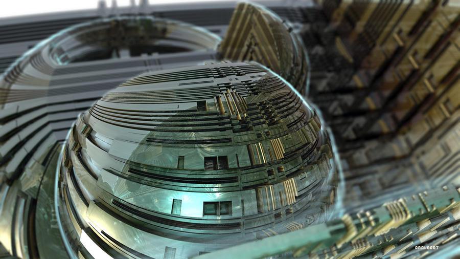 modern spheres by batjorge