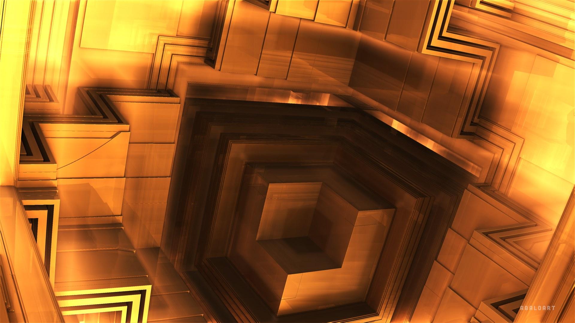 Golden Box by batjorge