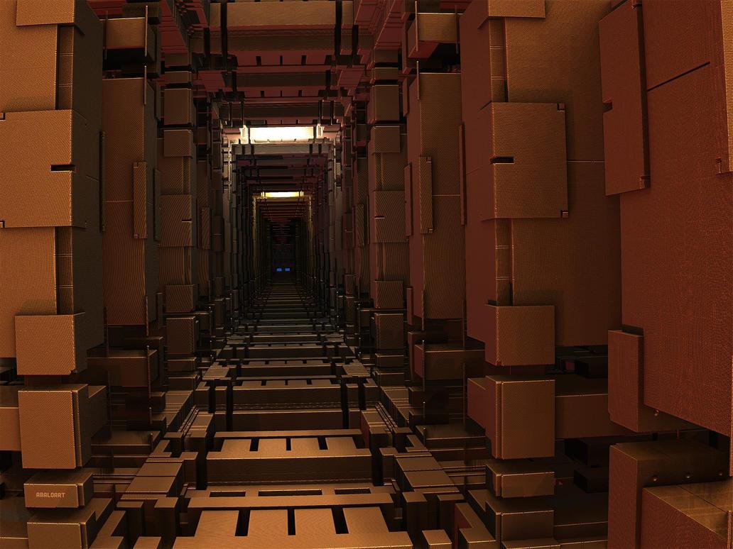 Mysterious Corridor by batjorge