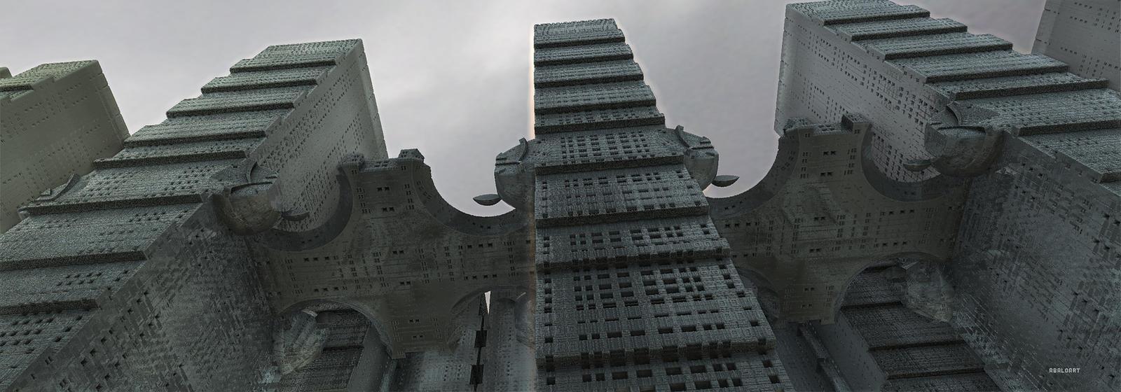 Towers Of Doom by batjorge