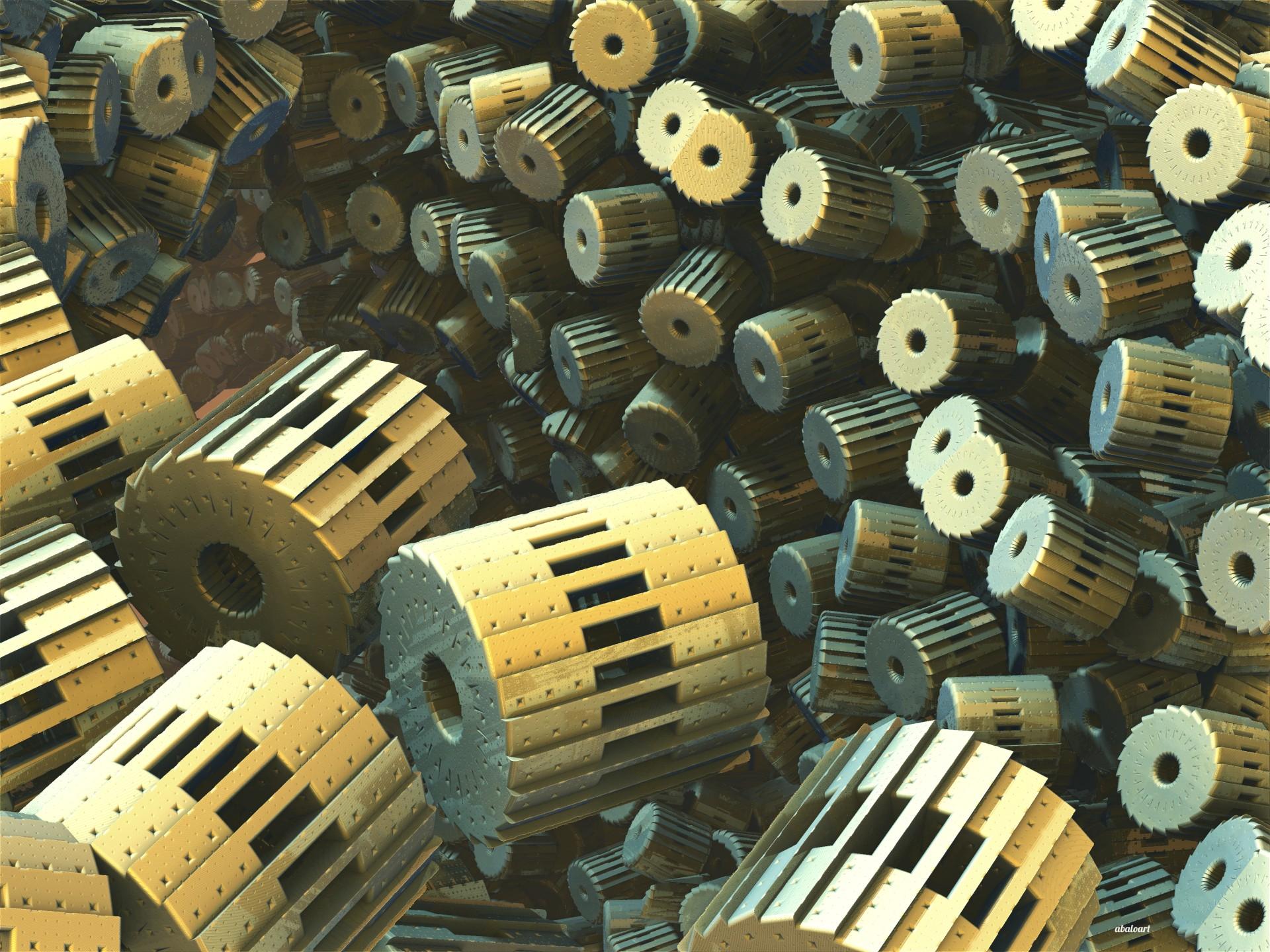 Gear Factory by batjorge