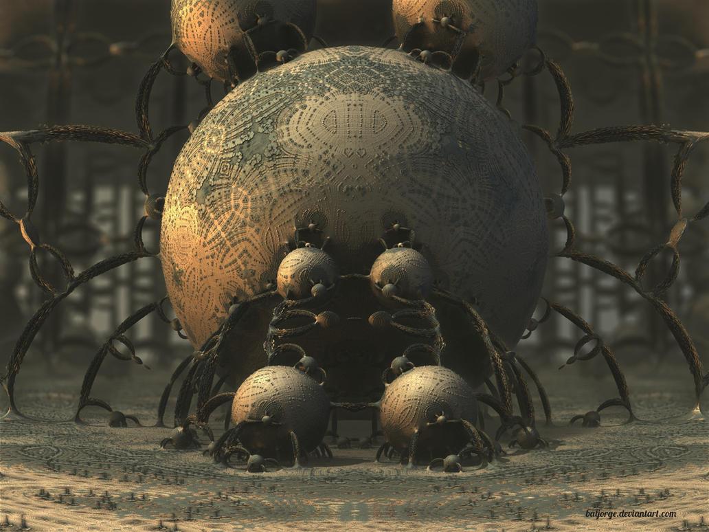 Microscopic by batjorge