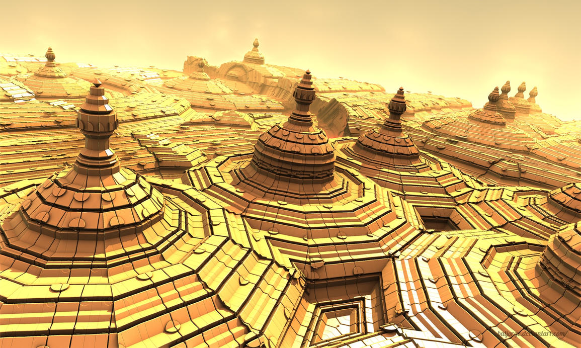 Sherazade's Palace ahead ASurf-Pong#9 by batjorge