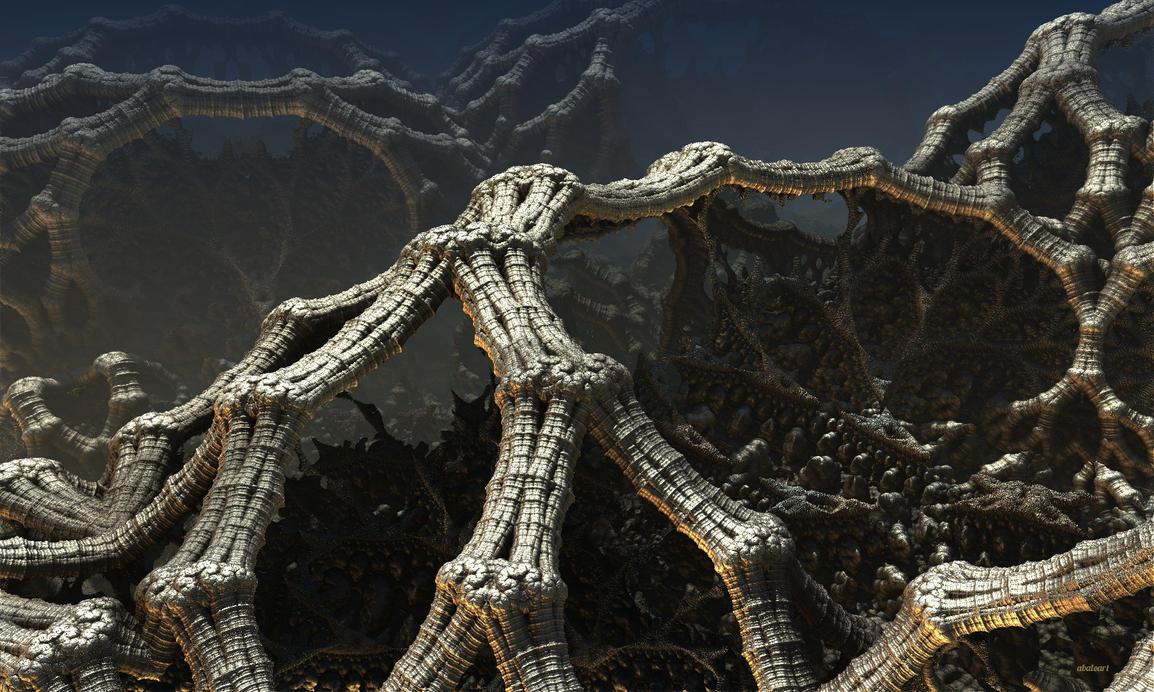 Cursed Landscape ASurf Pong#11 by batjorge