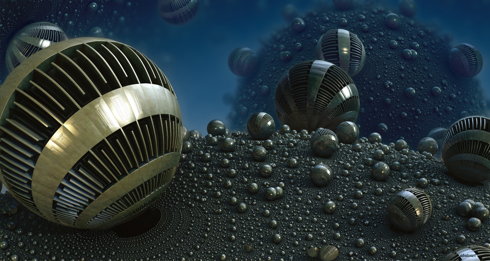 Sphere Machinery by batjorge