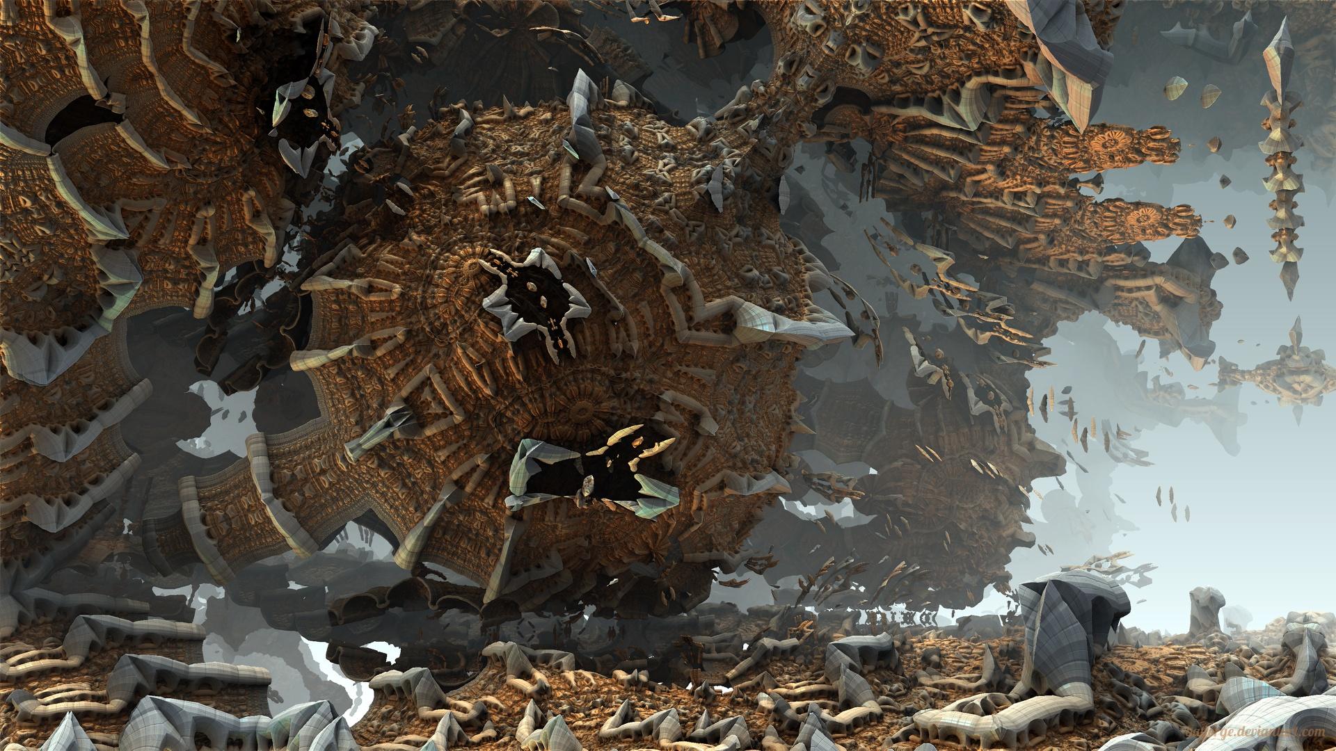 Oniric Formations by batjorge
