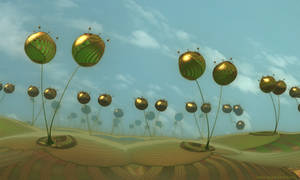 Fractal fields - Pong 651