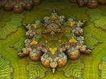 Arabesque Lime -  Pong 779 by batjorge