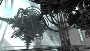 Machine Cluster - Pong 486 by batjorge
