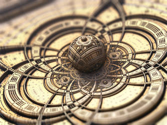 Steampunk Orb by batjorge
