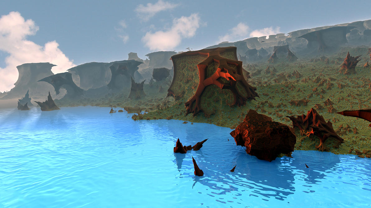 Pirate's Island by batjorge