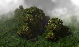 Evergreen by batjorge