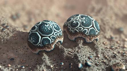 Sand Beings by batjorge