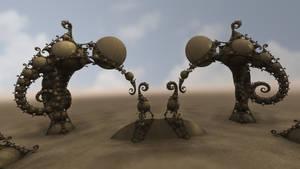 Gate of the Desert Dwellers