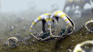 Strange Micro Worlds I by batjorge
