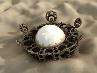 Forgotten talisman of the desert by batjorge