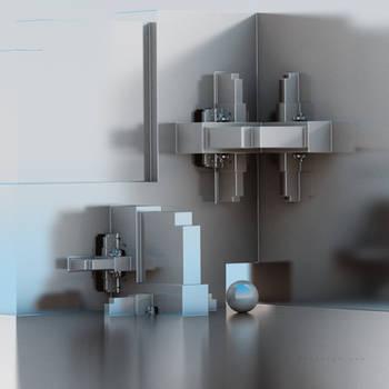 Inside Kitchen Cabinet