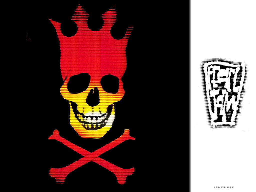 Pearl Jam Riot Act Skull Riot Act by diciembre7