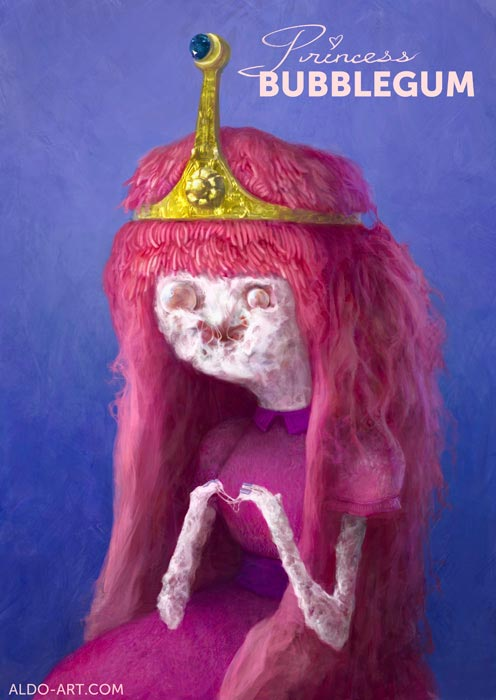 Princess Bubblegum by AldoK