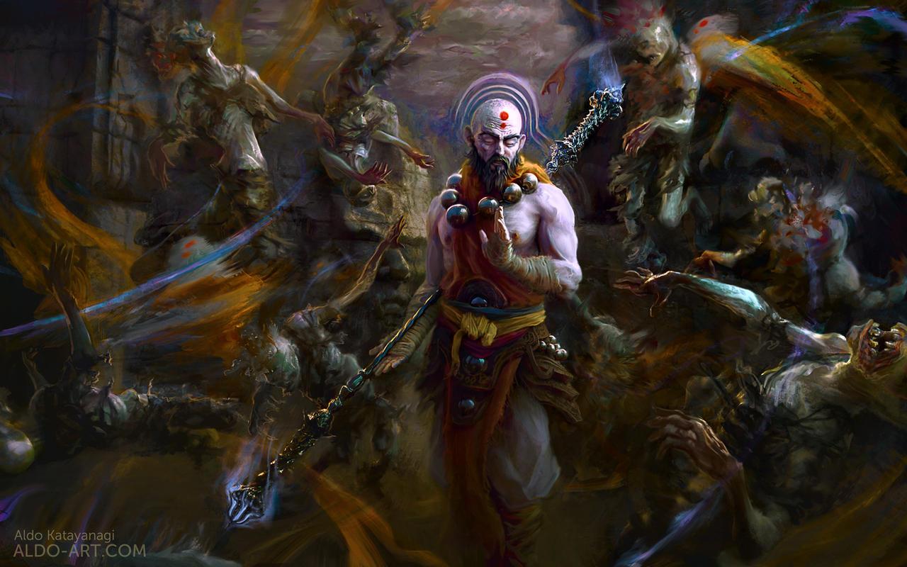 Monk - Diablo by AldoK...