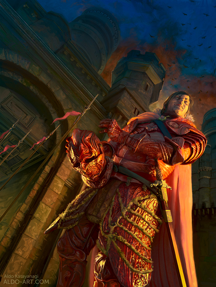 Ramsay in Winterfell by AldoK