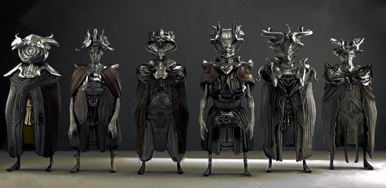 Priests by AldoK