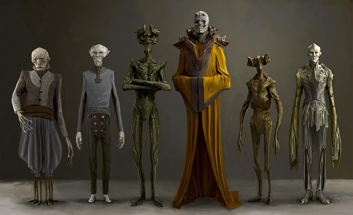 Demon figures by AldoK