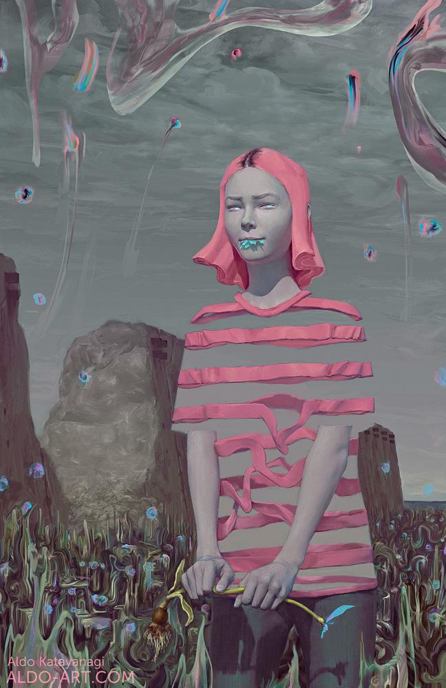 Eva portrait by AldoK