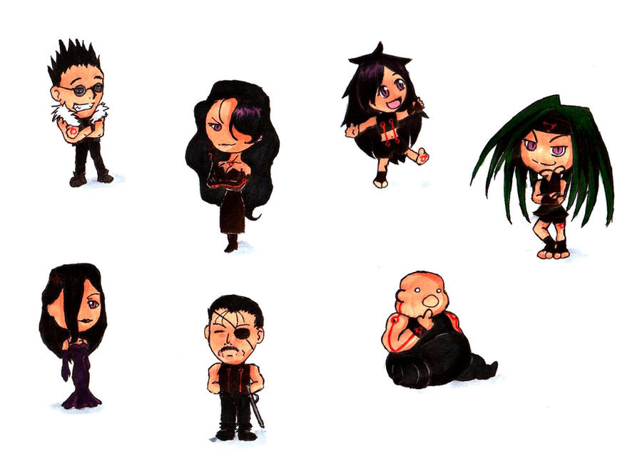 Chibi Homunculi By Water Diamond On Deviantart