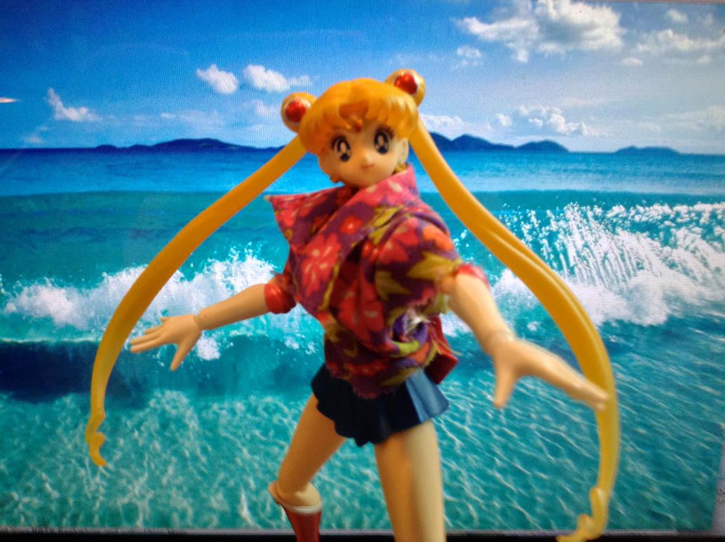 Surfs up, Sailor Moon! by SuperSpaceGirlTV