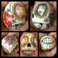 Sugar Skull Egg